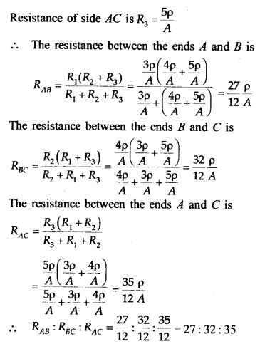 NEET AIPMT Physics Chapter Wise Solutions - Current Electricity explanation 14.1