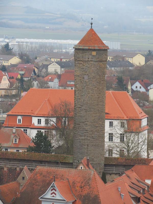 Aussicht von Rathausturm auf Faulturm<br /> IMG_8042