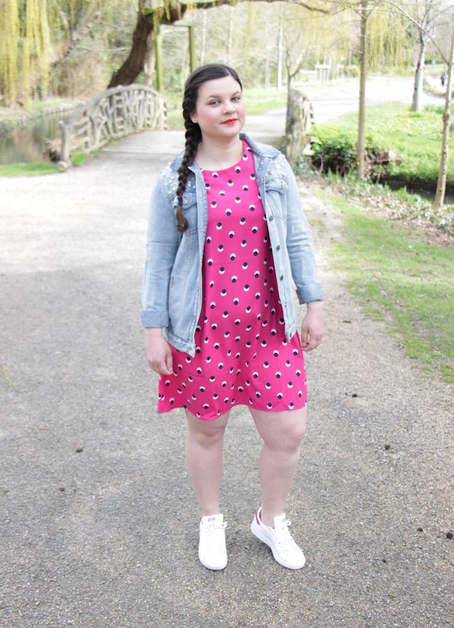 comment-porter-robe-rose-fuchsia-blog-mode-la-rochelle-4