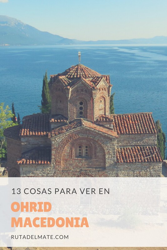 QUé ver en Ohrid Macedonia en 2 días o más