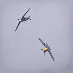 Supermarine Spitfire & Bf 109