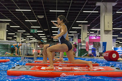Working out on a BEboard - FIBO Cologne 2018