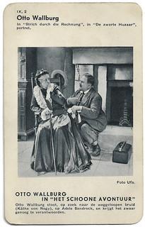 Otto Wallburg and Adele Sandrock in Das schöne Abenteuer (1932)