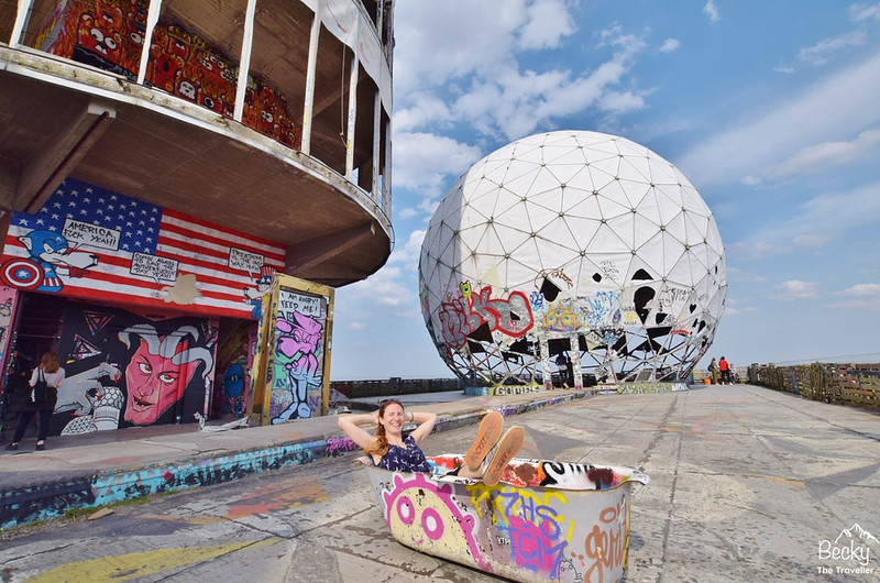 Alternative Berlin - Teufelsberg (Devil's Mountain) - Berlin
