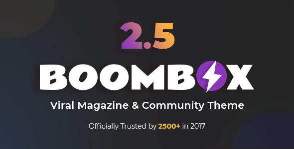 BoomBox v2.5.8.1 - Viral Magazine WordPress Theme