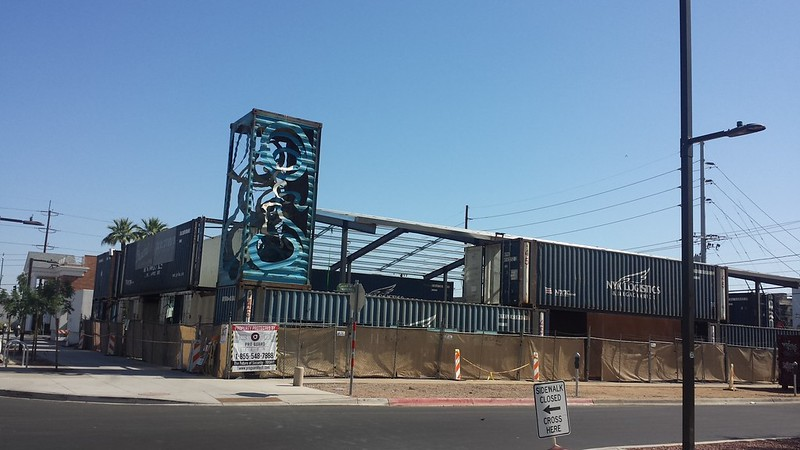 Construction, downtown Phoenix