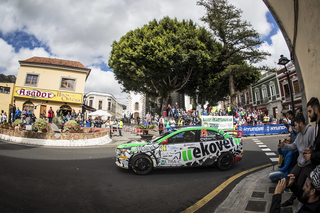 26 REMENIK Sergei, ROZIN Mark, MITSUBISHI LANCER EVO X, action during the 2018 European Rally Championship ERC Rally Islas Canarias, El Corte Inglés,  from May 3 to 5, at Las Palmas, Spain - Photo Gregory Lenormand / DPPI
