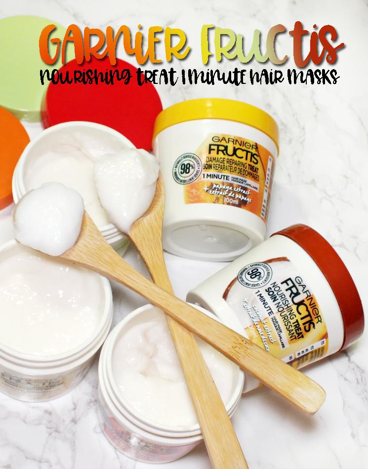 garnier fructis hair treat 1 minute masks (1)