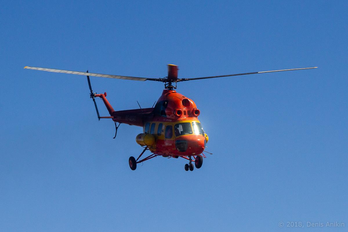 Вертолёт Ми-2 выступление фото 1