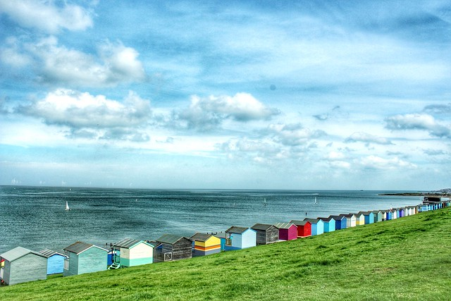 Tankerton slopes, Whitstable Kent