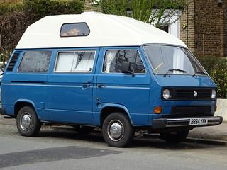 1985 Volkswagen Caravelle CL Camper Van