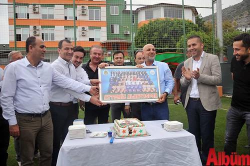Aytemiz Alanyaspor Kulüp Başkanı Hasan Çavuşoğlu doğum günü -4