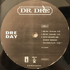 DR. DRE:DRE DAY(LABEL SIDE-A)