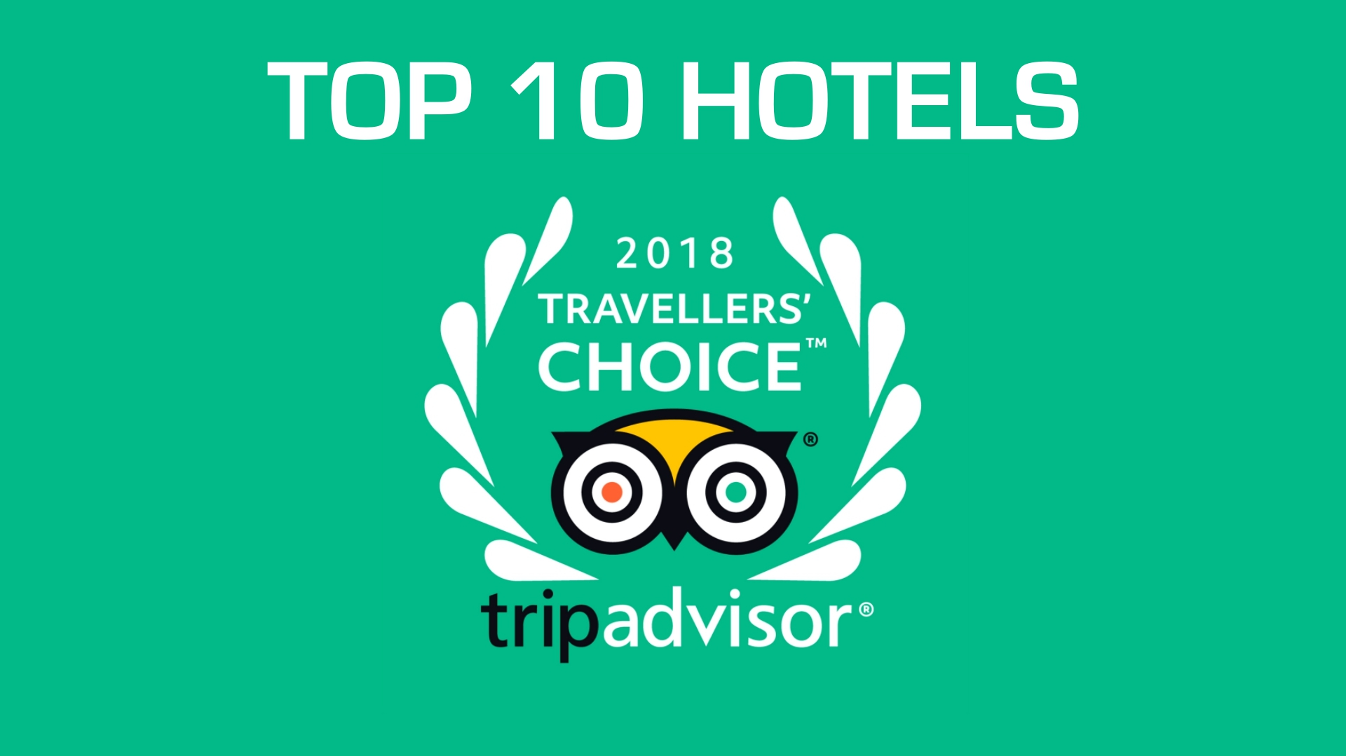 TripAdvisor Traveller's Choice® Awards 2018 For Hotels