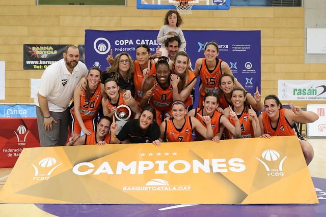 Final a Quatre Copa Catalunya Femenina 2017-18
