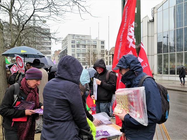 Betoging tegen NAVO en tegen Turkse inval in Afrin // Mario