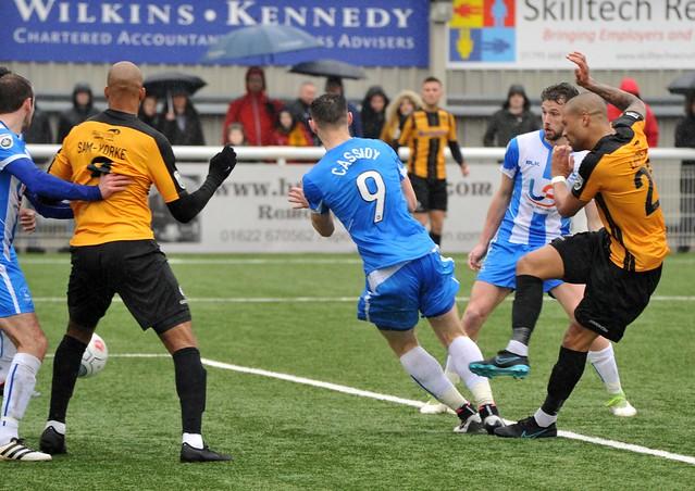 Maidstone United 1-2 Hartlepool United