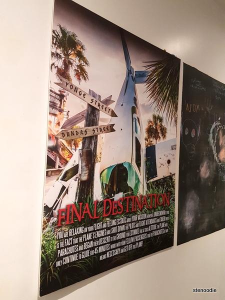 Final Destination game poster