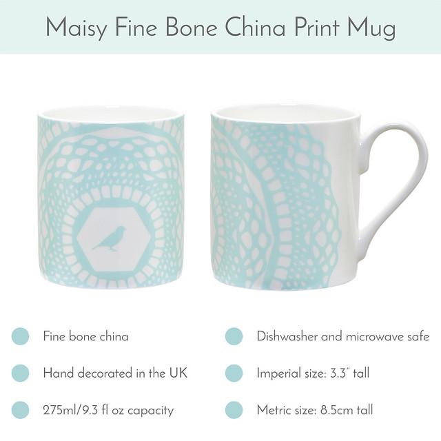 Opal Blue Maisy Mug available now!
