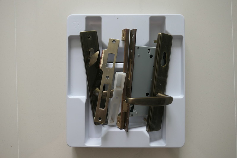 Existing HDB Mortise Lock Removed