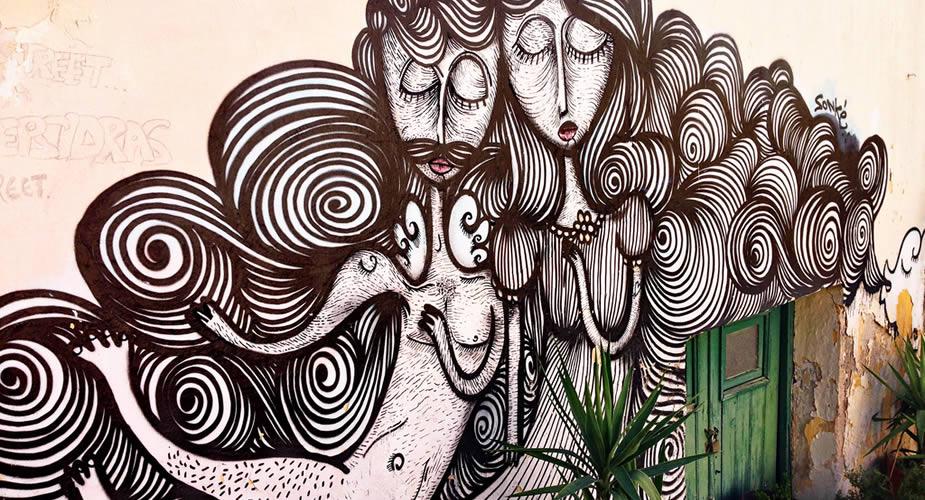 Street art in Athene   Mooistestedentrips.nl