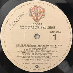 ROGER:THE MANY FACETS OF ROGER(LABEL SIDE-A)