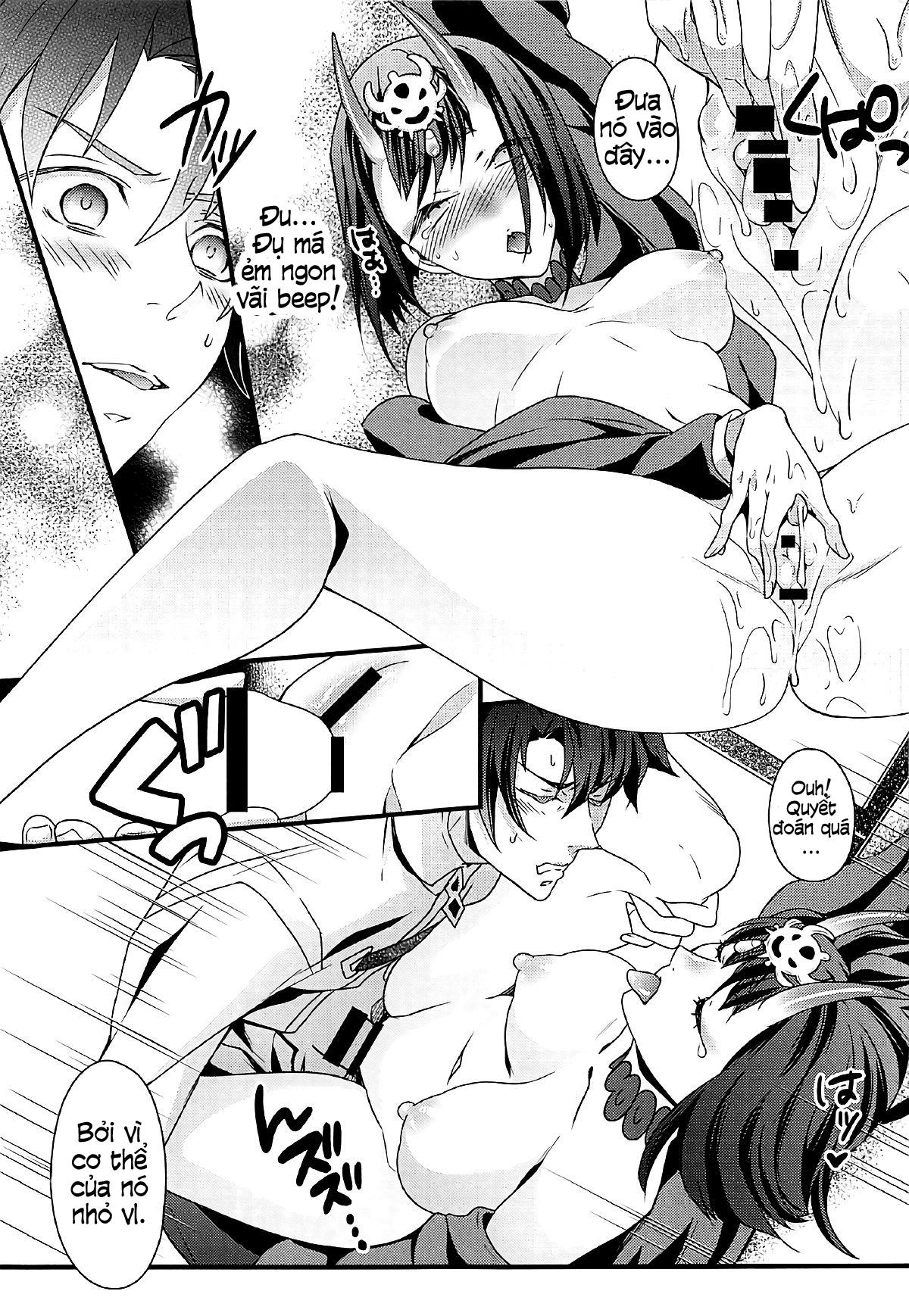 HentaiVN.net - Ảnh 10 - Chimimouryou Kikikaikai (Fate/Grand Order) [Việt Sub] - [うに蔵 (うに蔵)] 痴魅妄陵嬉々快界 (Fate/Grand Order) - Oneshot