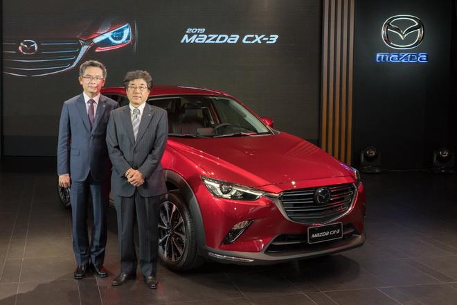圖一:新時代標竿2019 MAZDA CX-3 SKY-G 2.0汽油與SKY-D 1.8柴油車型同步進化登場,並自即日起以新台幣78.9萬起展開接單