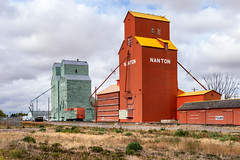 Grain elevators of Nanton