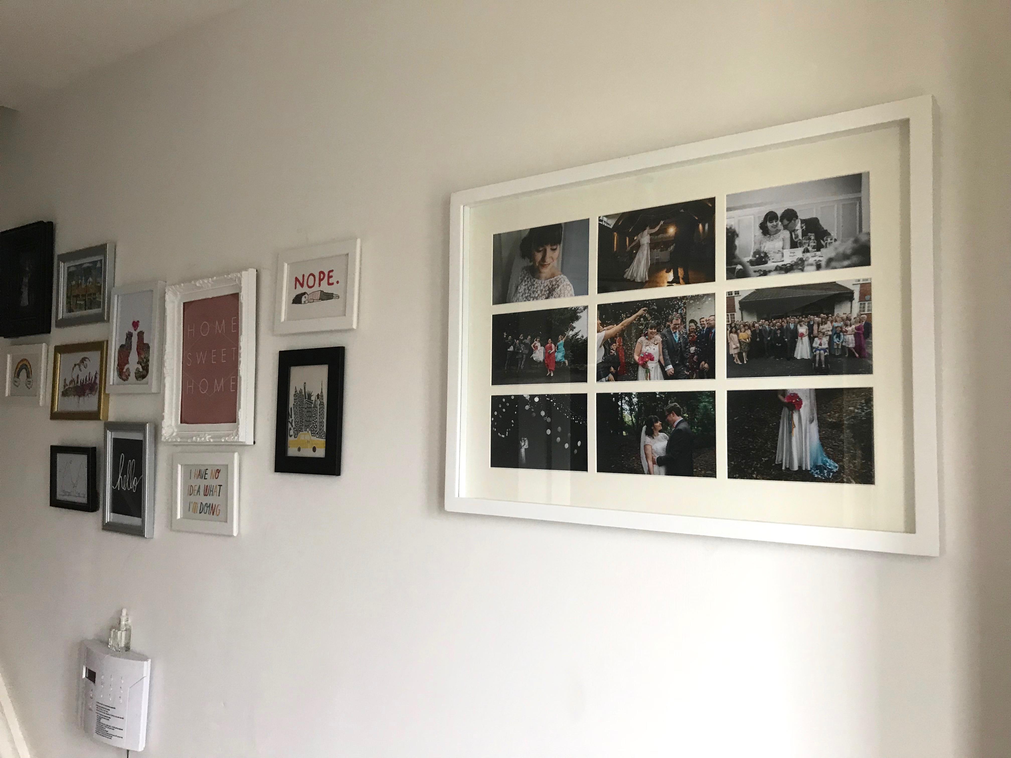 landing - gallery wall