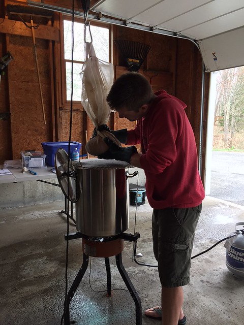 Uncle Rico brew day