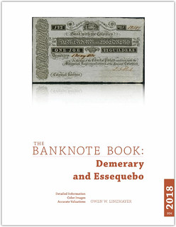 Bnaknote Book Demerary and Essequebo cover