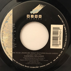 VANESSA WILLIAMS:WORK TO DO(LABEL SIDE-A)
