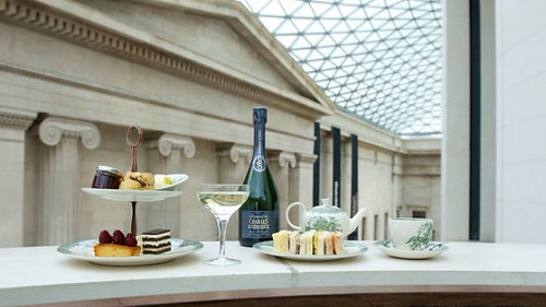 Unusual afternoon tea venues: British Museum