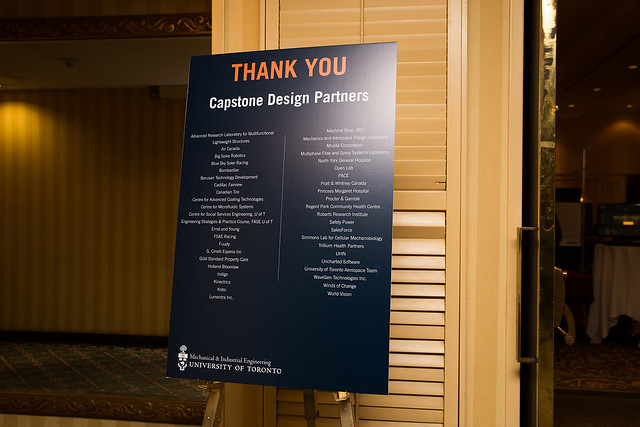 2018 MIE Capstone Showcase & Chair's Reception