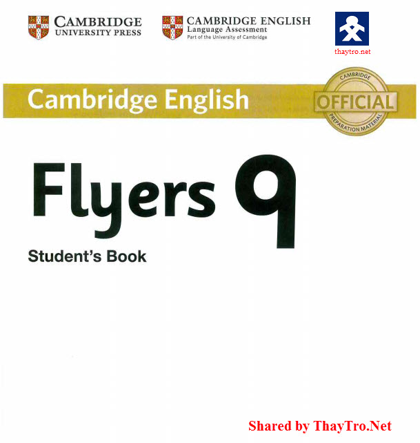 English Club: Download Flyers 9 Cambridge Student book CD Booklet