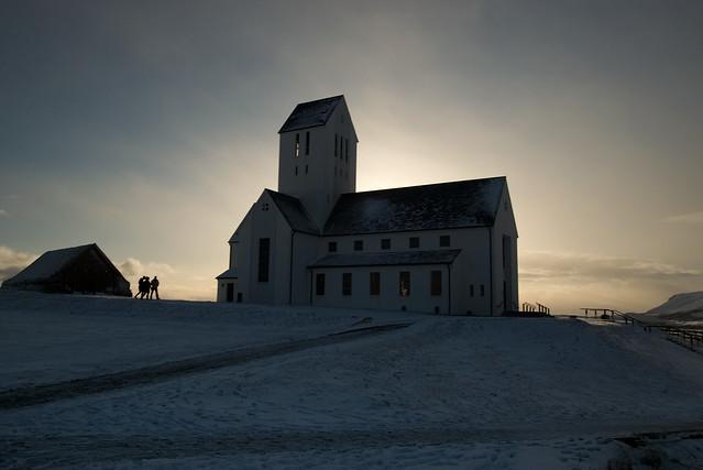 Skálholt, Iceland, February 2018