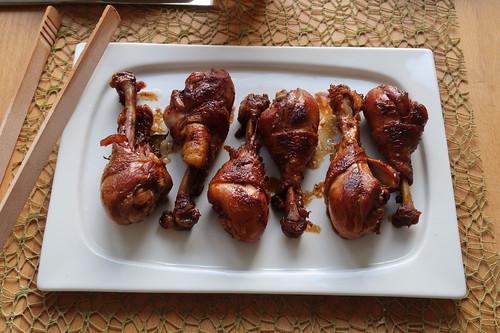 Hähnchenunterkeulen des Adobo Manok