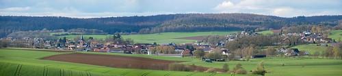 Rosenthal (Burgwald): Frühlingspanorama
