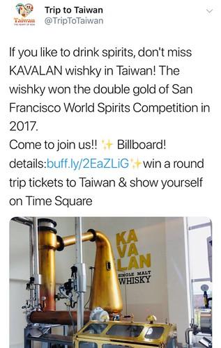 taiwan tourism social media