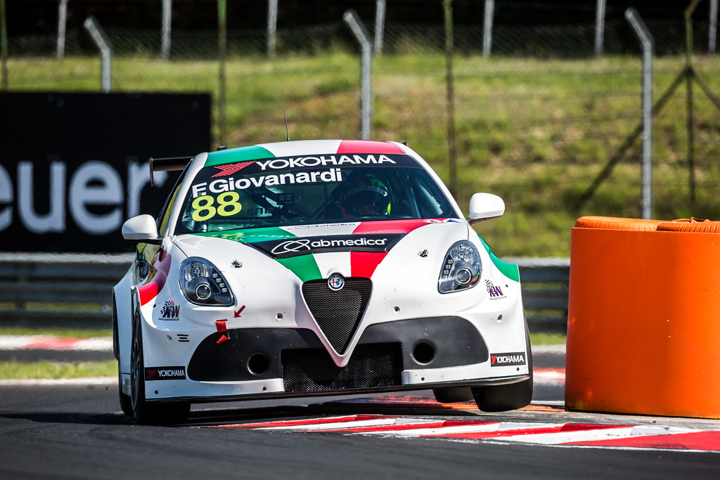 88 GIOVANARDI Fabrizio (ITA), Team Mulsanne, Alfa Romeo Giulietta TCR, action during the 2018 FIA WTCR World Touring Car cup, Race of Hungary at hungaroring, Budapest from april 27 to 29 - Photo Thomas Fenetre / DPPI