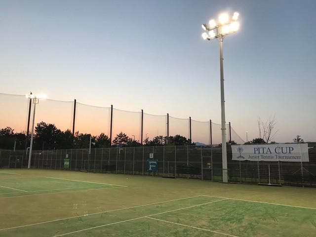twilight tennis