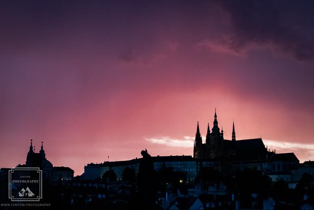 Prague Silhoutte, Canon EOS REBEL T6S, Tamron 16-300mm f/3.5-6.3 Di II VC PZD Macro