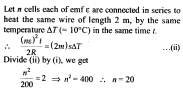 NEET AIPMT Physics Chapter Wise Solutions - Current Electricity explanation 15.1