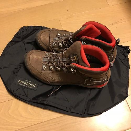 モンベル mont-bell ブーツケース
