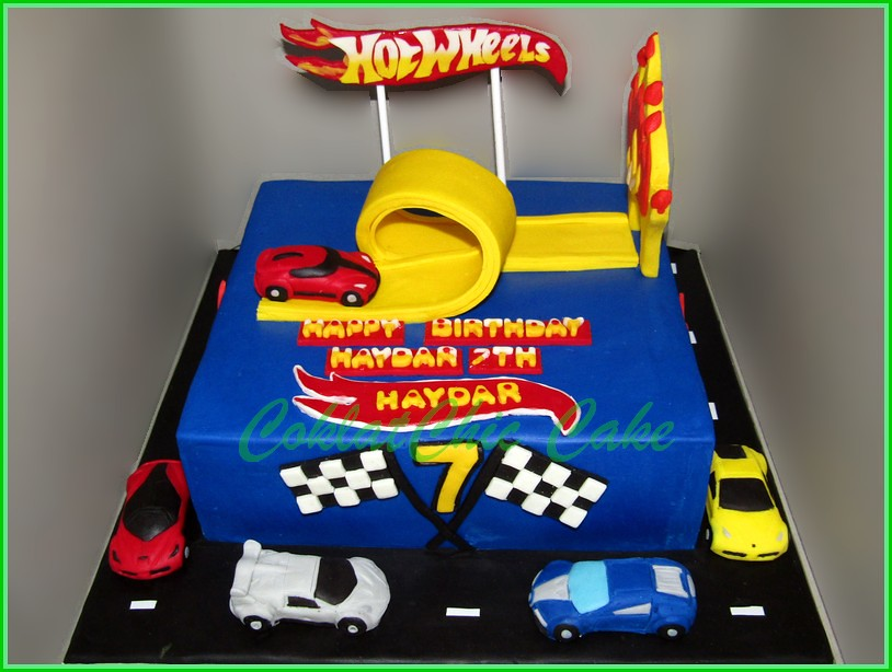 Cake HotWheels HAYDAR 24 cm