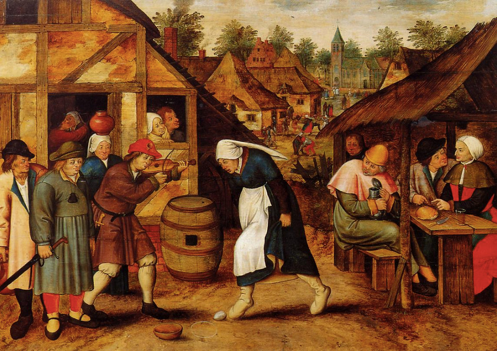 Brueghel egg dance