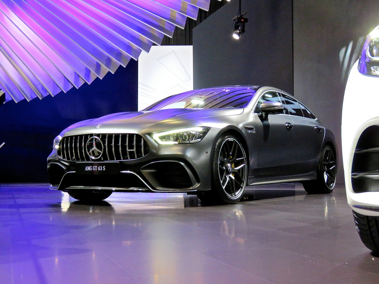 NYIAS 2018 AMG GT 63 S