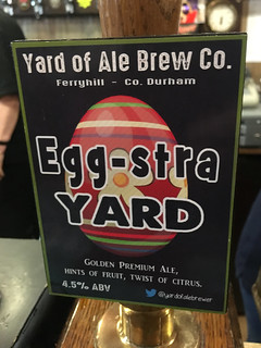 Yard of Ale, Egg-stra Yard, England