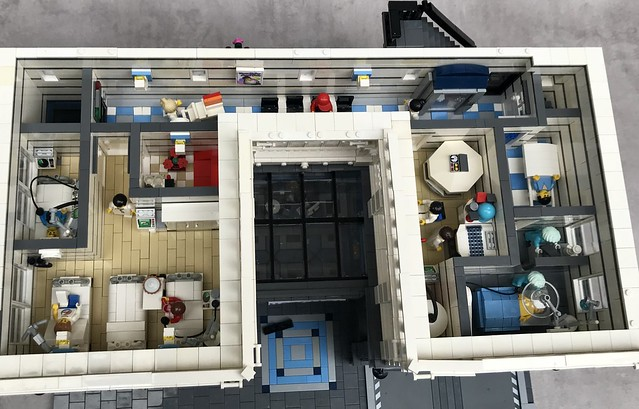Who Broke his leg? A Modular hospital